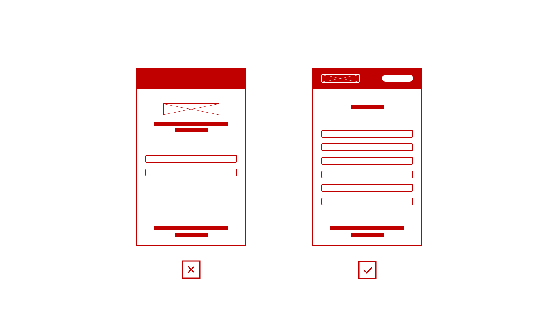 Reducing content on mobile devices will generate inconsistencies and provide poor user experience. Responsive design should be featuring full content.