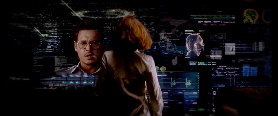Transcendence UI/UX inspiration: Movies every designer should watch