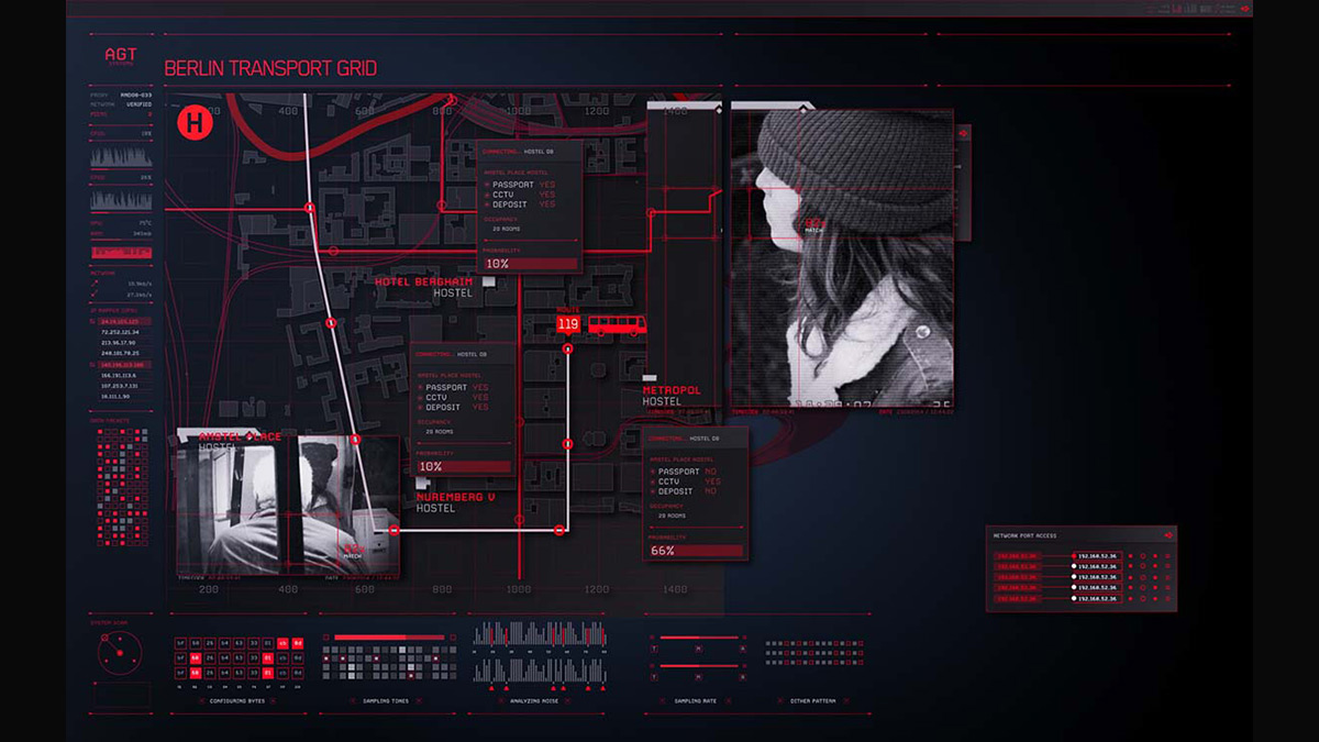 Hitman: Agent 47 UI/UX inspiration: Movies every designer should watch